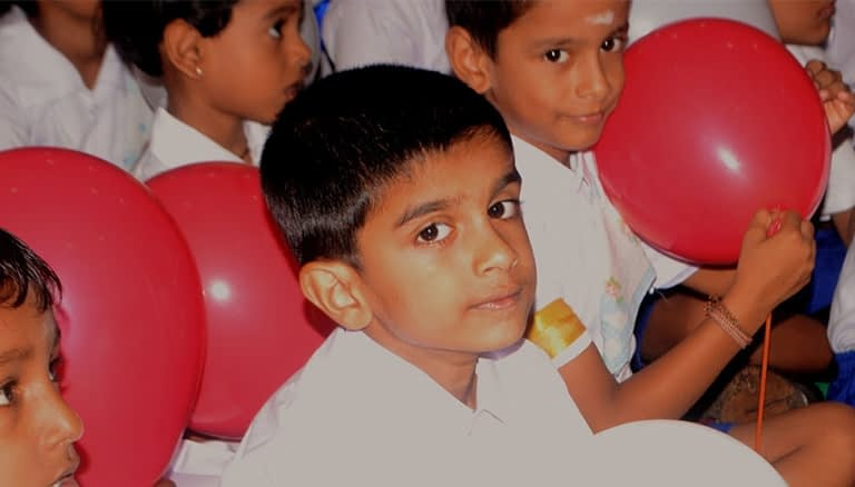 Børnenes dag Tamilshome
