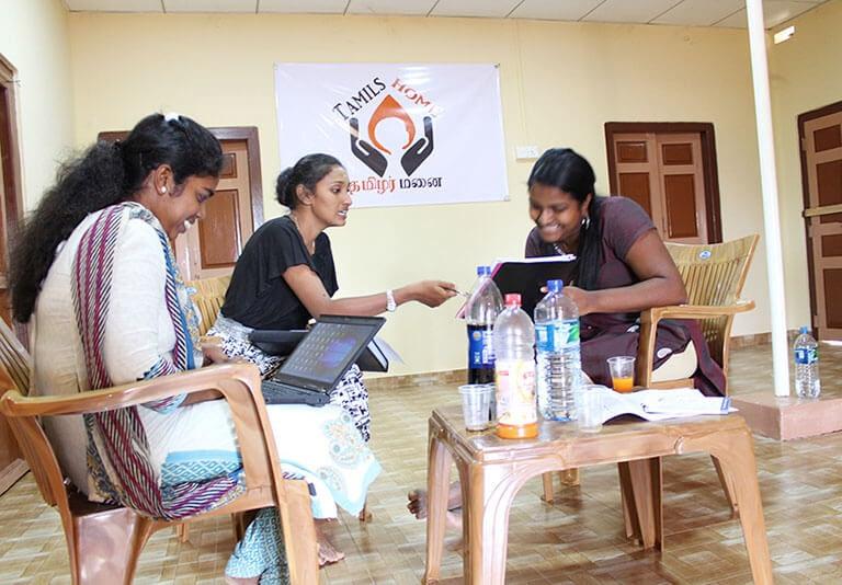 Tamilshome office Jaffna